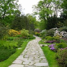 aménagement allée de jardin