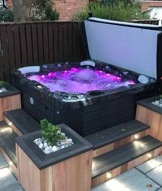 Aménagement terrasse spa