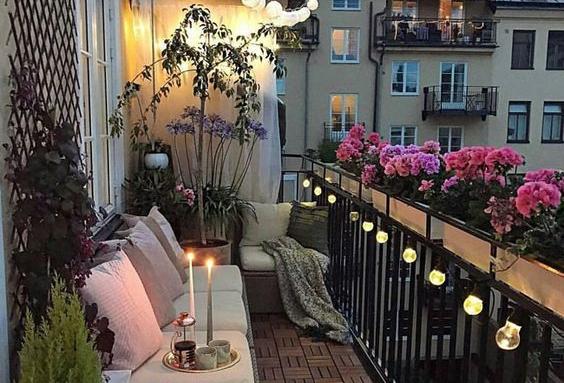 Aménagement d'une terrasse ou d'un balcon