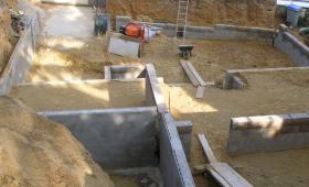 travaux de maçonnerie - fondations