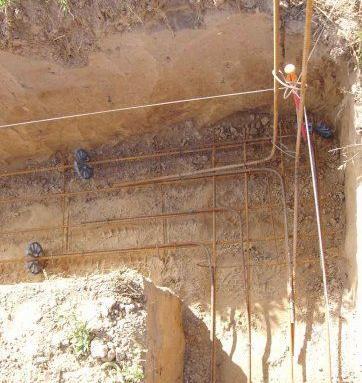 Illustration d'une construction après terrassement