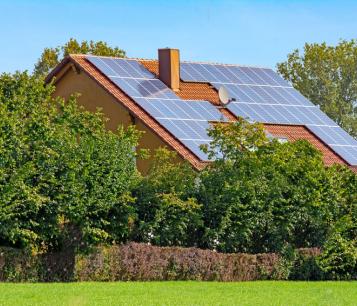 Installation de panneau solaire